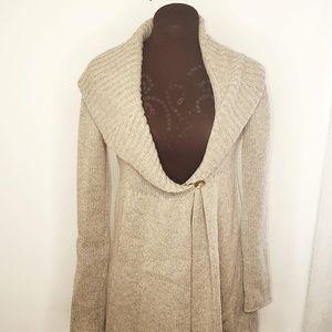 Vince Kimono Style Cardigan Alpaca Cashmere Blend